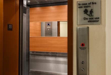 Renovated Elevator West Tower