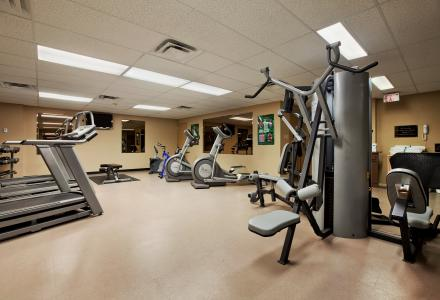 Enjoy our on-site fitness facility, open daily from 6:00am - 10:00pm.