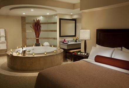 Relax in one of our beautiful Jacuzzi suites.
