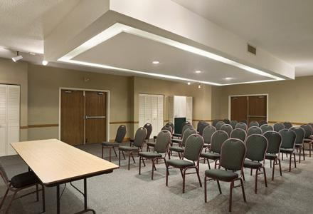 Meeting space to accommodate up to 40 people. AV equipment & services available.