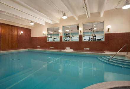 Heated indoor pool open daily from 6:00am - 10:00pm for guest use.