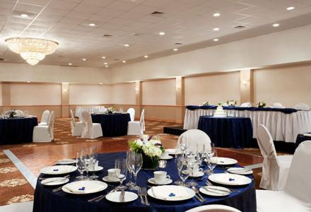 The Centennial Ballroom can accommodate groups up to 400 people for meetings, receptions and banquets.