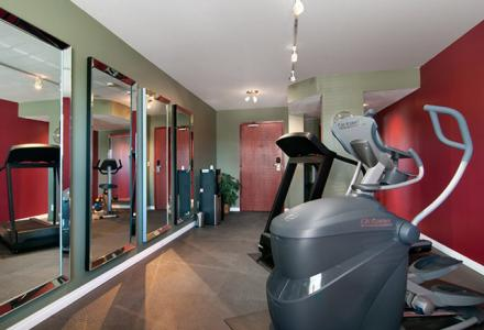 On-site fitness centre open daily from 6:00am - 10:00pm for guest use.