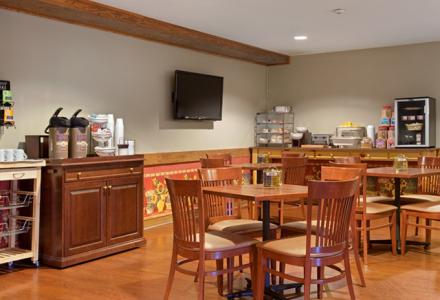 Guests will enjoy free continental breakfast in our sunny and spacious breakfast room.