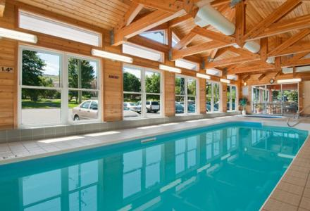 Guests will enjoy the indoor heated pool and hot tub.