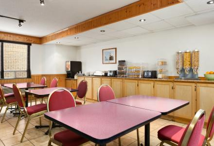 Free continental breakfast, served daily from 7:00am - 10:00am in the breakfast room.