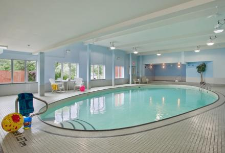 Heated indoor pool & hot tub, open daily from 7 a.m. - 10 p.m.
