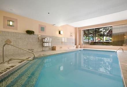 Heated indoor pool, open daily from 7:00am to 10:00pm.