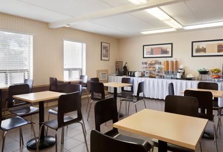 Complimentary continental breakfast, served daily in the breakfast room.