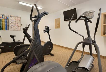 Guests will enjoy the onsite Fitness Centre, open daily.