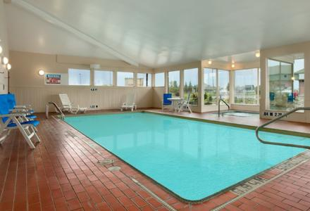 Guests will enjoy the heated indoor pool and hot tub