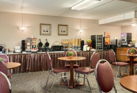 Complimentary continental breakfast served daily from 7:00am - 10:00am.