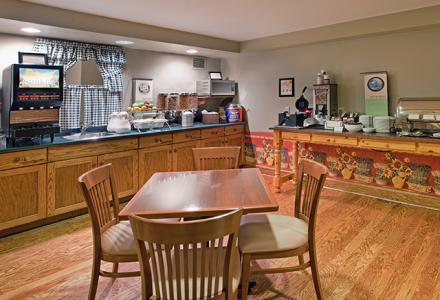 Complimentary continental breakfast served daily 6:00am - 10:00am.