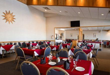 The Travelodge Slave Lake Restaurant is open daily, offering delicious lunch and dinner options.