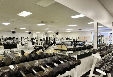 Norfolk Fitness Centre, free access for hotel guests, open daily from 6:00am - 9:00pm.