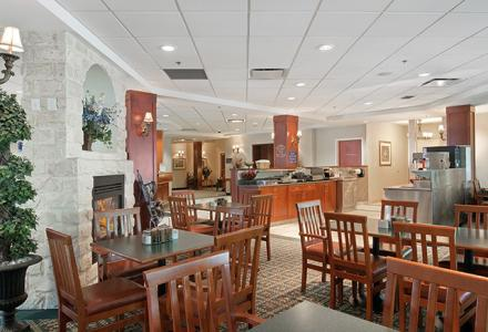 Free hot breakfast buffet, served daily 6:00am - 10:00am in the breakfast room.