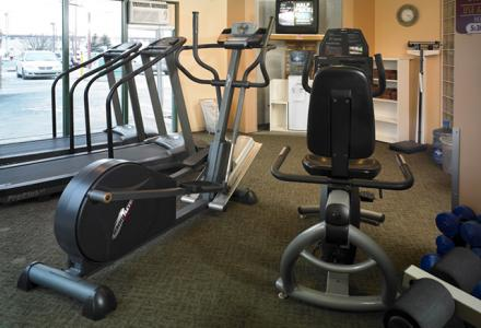 Onsite fitness centre, open daily from 6:00am - 10:00pm.
