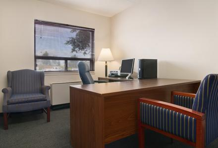 On-site business centre, available 24 hours for guests' use.