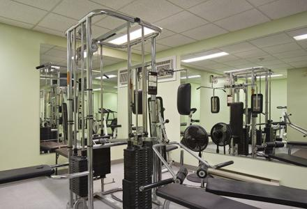 Fitness centre open daily 6:00am - 11:00pm.