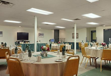 Meeting facilities available for groups up to 80 people.