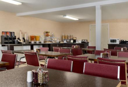 Free continental breakfast is served daily from 7:00am - 10:00am.