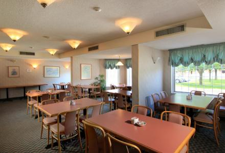 Onsite restaurant serves full,hot breakfast at great low prices every weekend.