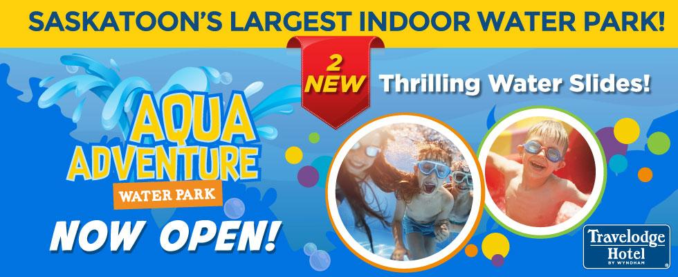 Aqua Adventure Now Open