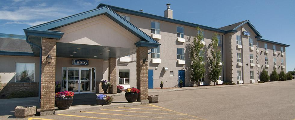 Welcoming hotel in Stony Plain