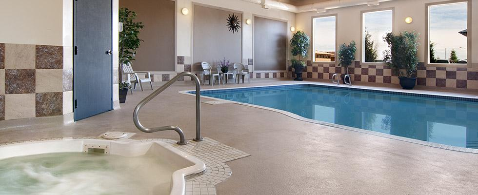 Stony Plain Hotel with Pool