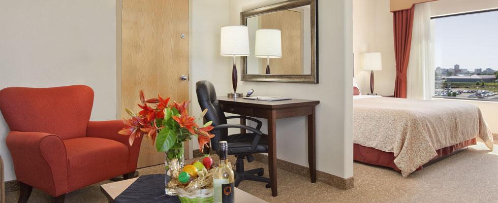 Comfortable hotel in Saskatoon