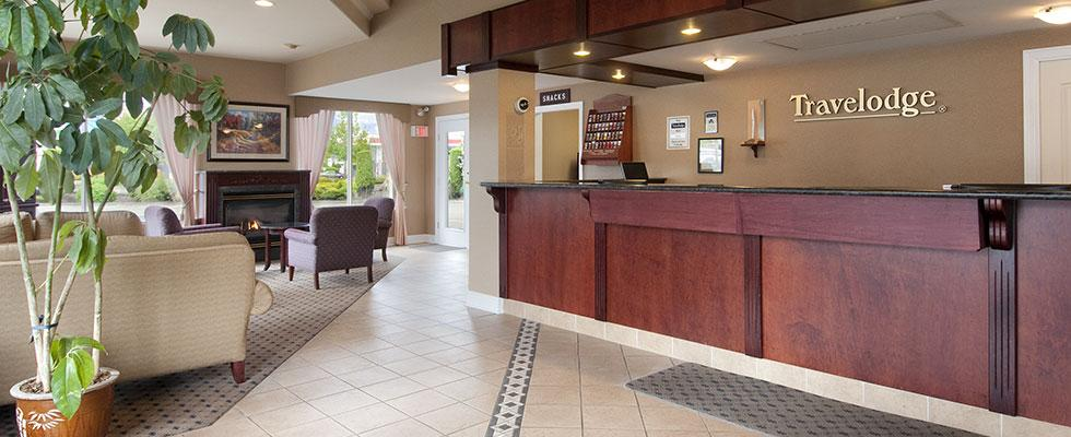 Welcoming hotel in Langley